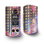 Skin Decal for Wismec Reuleaux RX Gen3 Dual Vape / Emojis in Galaxy Space Peace