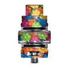 Skins Decals for Smok TFV8 Big Baby V2 Tank / Colorful Wax Daisies Flowers