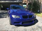 2008 BMW M3  Clean, manual, low mile interlagos blue BMW e92 M3
