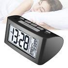 Large LED Digital Standard Night Light Thermometer Display Bedside Alarm Clock