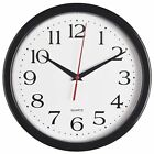Large Wall Clock Silent Indoor Outdoor Battery Powered Analog Office Home Sc...