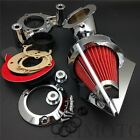 2008-2012 Harl Dyna Electra Glide FLHX Road King CHROME Cone Spike Air Cleaner