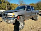2003 GMC 2500 Duramax 4x4 Short Bed Ext Cab Turbo Diesel Lifted Project Salvage