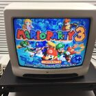 "13"" White Westinghouse WT-1305 Color TV Retro Gaming N64 Nes Snes"