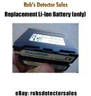 Replacement 7000mah Li-Ion Battery for Doc's Goldscreamer Power Pack - Minelab