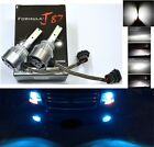 LED Kit C6 72W 881 10000K Blue Two Bulbs Head Light Lamp Replacement Snowmobile