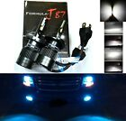 LED Kit C6 72W 9003 HB2 H4 10000K Blue Two Bulbs Head Light Replace Snowmobile