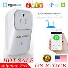 US Plug Smart WiFi Socket Plug Outlet Switch Power Timer Alexa APP&Voice Control