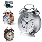 Alarm Clock Twin Bell Style Vintage Retro with Stereoscopic Dial Backlight