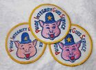 70'S 80'S CLOTH PATCHES MC CHOPPERS TOKERMAN TRUCKIN PEACE RIGHT-ON DRUGS POLICE