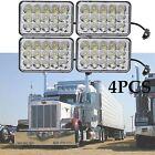 4X CREE LED Headlights Sealed Beam HID Bulb For kenworth Peterbilt 378 357 379 T