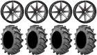 """STI HD10 20"""" Wheels Smoke 35x9.5 (8ply) BKT 171 Tires Renegade Outlander"""