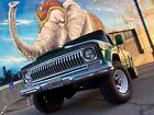 "1973 Jeep J-4000 Gladiator Custom Cab 1973 Jeep J4000 Gladiator Rare final year ""LWB"" NO RESSERVE California Barn Find"