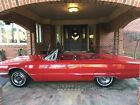 1966 Ford Thunderbird Convertible CONVERTIBLE - RED/RED - 77,000 ORIGINAL MILES