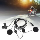 Motorcycle Helmet Intercom Headset Mic Earphone For Motorola Radio Walkie Talkie