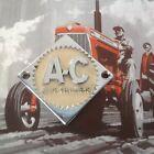 AC Allis Chalmers diamond chrome emblem D 10 12 15 17 19 hood steering wheel