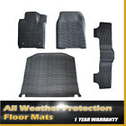 14-17 For Jeep Grand Cherokee Rubber Slush Floor Mats !  Tray Liner Set for 3pc