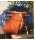 Chinese Junk sailboat with new 25 horse diesel