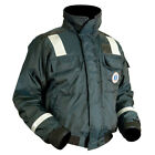 Mustang Marine Classic Bomber Jacket w/SOLAS Reflective Tape Size Large Navy