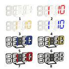 3D LED Digital Clock with Night Mode Electronic Clock Alarm Clock Wall M9N0