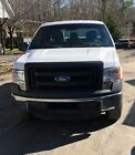 2014 Ford F-150  2014 Ford F-150  3.5L V6 Ecoboost White Extended Cab Truck Work Truck
