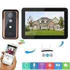 Wireless Wifi IP Video Doorbell Intercom Entry System with Wired
