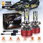 H4 LED Headlight Kit For 2000-2007 Polaris 500 XC SP 12000LM Combo Beam DOT
