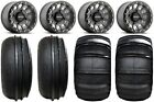 "Method 401 14"" Bdlk Ti Wheels 28"" Sand Stripper/HP Tires RZR XP 1000 / PRO XP"
