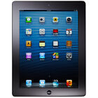 Apple iPad 4th Gen. 32GB, Wi-Fi + Cellular (AT&T), 9.7in - Black Excellent Cond