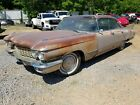 1960 Cadillac 4 Dr V8 project car located in Ky fresh in from texas59 61 62
