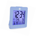 Marathon CL030050BL Digital Dual Alarm Clock with Day, Date, Temperature and Bac