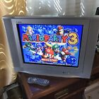 RCA 20 Flat CRT TUBE Color TV RETRO Gaming Television Remote AV IN SNES Stereo