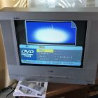 """RCA 20"""" FLAT CRT TV DVD Combo Remote Excellent Tested Svideo Av Component Gaming"""