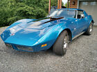 1973 Chevrolet Corvette T-top Coupe 1973 Corvette Stingray with 4 Spd Transmission and Hurst Competition Shifter