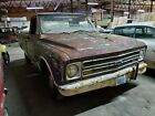 67 chevy Pickup Truck 6cyl fleet side clean T itle project Ky hot rat rod C10
