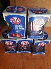STP-1 Double Oil Filter 1975 in Original Box Lot of 5