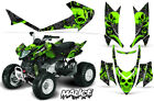 Decal Graphic Kit Quad Sticker Wrap For Arctic Cat DVX400 DVX300 MALICE GREEN
