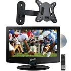 """Supersonic SC-1512 15.6"""" HD LED TV built-in DVD Player with Wall Bracket"""