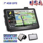 "7"" HD Touch Screen CAR TRUCK 4GB GPS Navigation Navigator System w/ Lifetime Map"