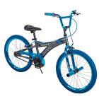 "Huffy 20"" Radium Metaloid BMX-Style Boys Bike, Blue Cool Styling Durable Frame"