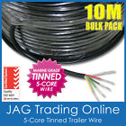 10M x 5-CORE MARINE GRADE TINNED WIRE - TRAILER/BOAT/AUTOMOTIVE/ELECTRICAL CABLE
