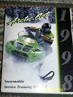 Genuine Arctic Cat Snowmobile Service Training Manual 1998 Models GREAT INFO