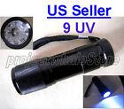 14 UV Ultraviolet LED Flashlight Blacklight 3 AAA 390-395 nM -NEW ship from US