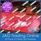 12V 60-SMD RED LED BOAT/FISHING/CAMPING/CARAVAN WATERPROOF LIGHTS-20 MODULES R