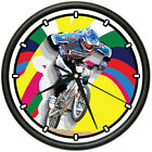 BMX Wall Clock bike freestyle parts frame rims gift 0
