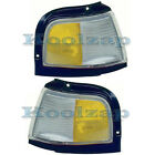 87-96 Cutlass Ciera Corner Light Turn Signal Marker Lamp Left & Right Set PAIR