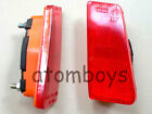 TOYOTA COROLLA KE20 TE21 red rear side corner reflector light taillight pair