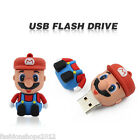 Cartoon Mario model USB 2.0 Enough Memory Stick Flash pen Drive 8GB 16G 32G DP16