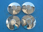 """Set of 4 Dog Dish Poverty Hubcap 9 1/2"""" 9.5"""" SG5"""