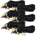 6x50ft Video Power Cable BNC Security Camera DVR Surveillance Extension Wire mce